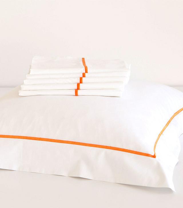 Zara Home Scallop-Trim Egyptian Bedding