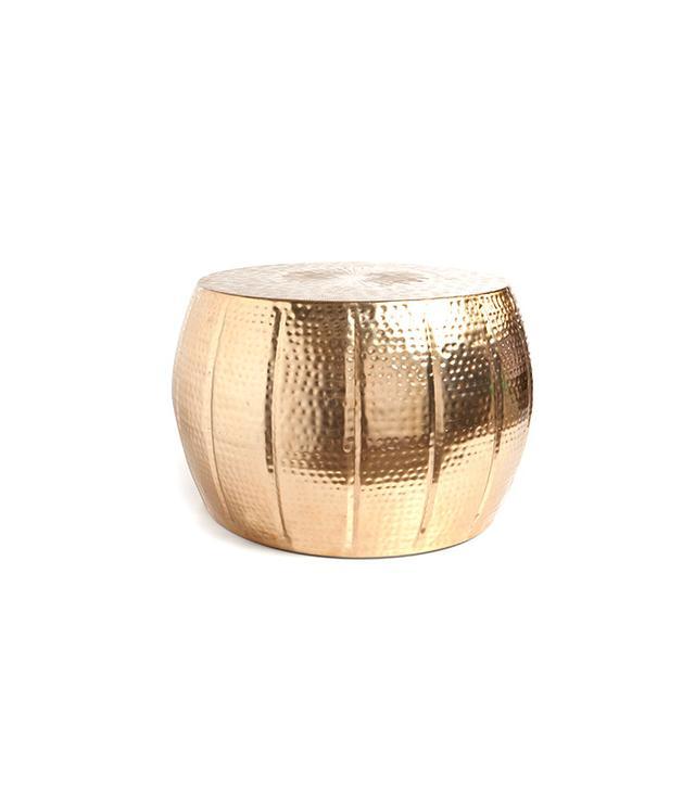 Zara Home Engraved Metal Stool
