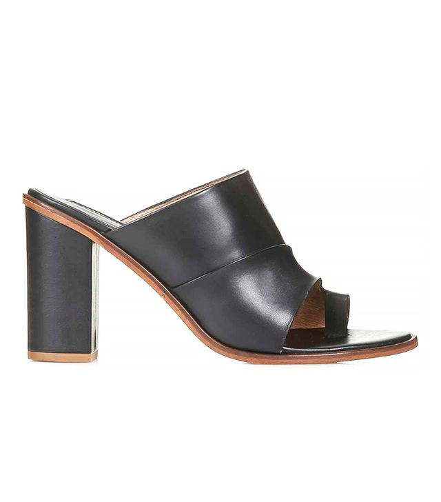 Topshop Glam Toe Loop Mules