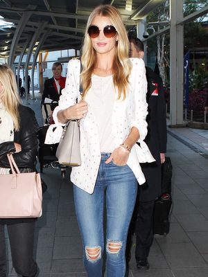 Your Advanced Class in Styling a White T-Shirt: Celebrity Edition
