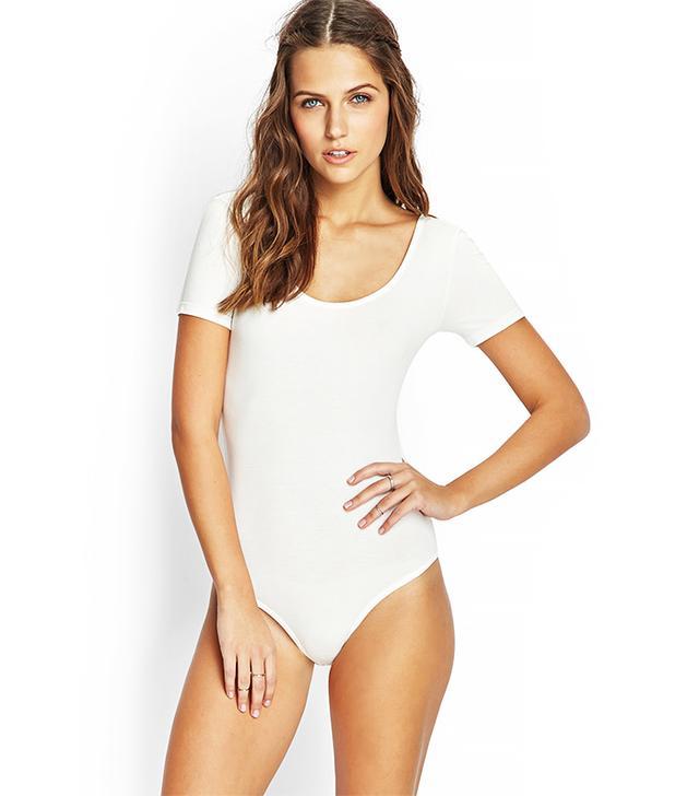 Forever 21 Comfy Short-Sleeve Bodysuit