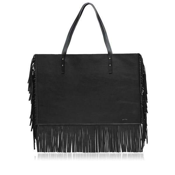 Maiyet Fringe Suede Tote