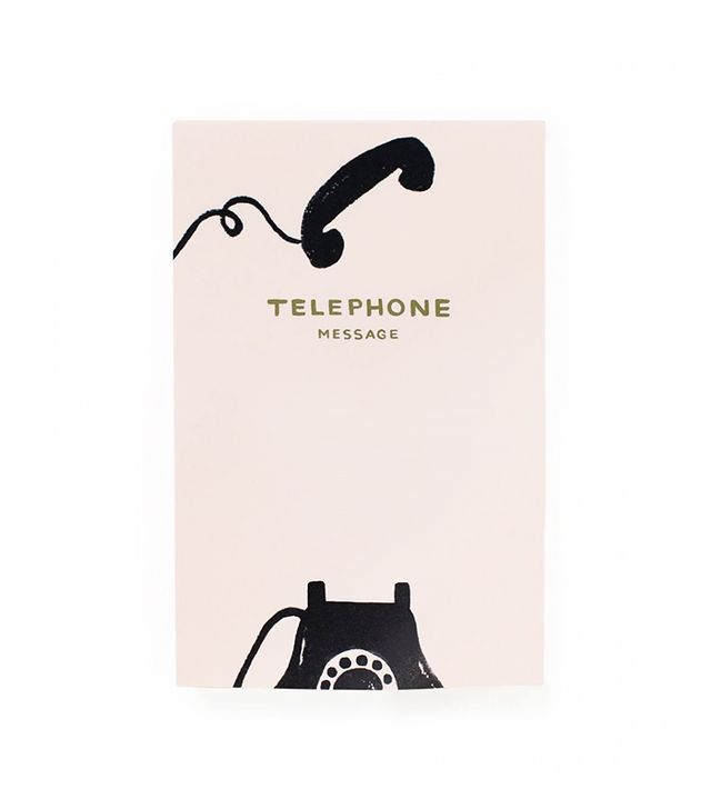 Rifle Paper Co. Vintage Telephone Tear-Off Notepad