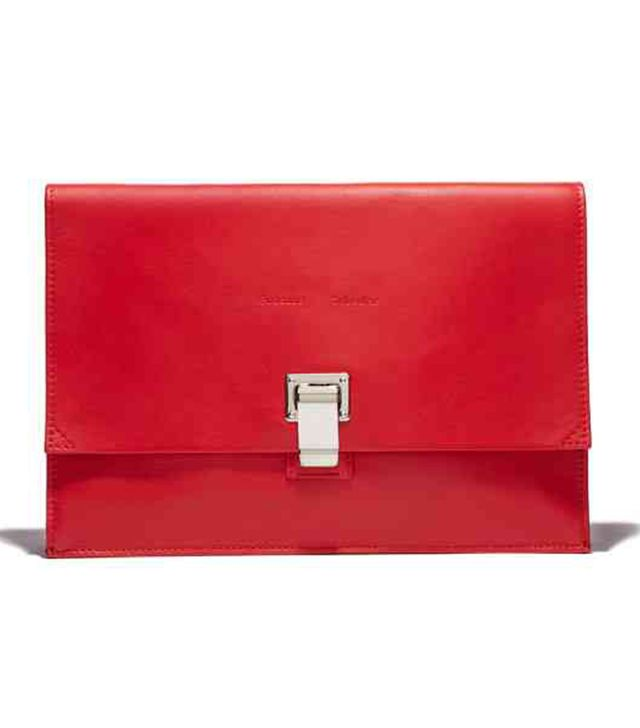 Proenza Schouler Small Red Lunchbag Clutch