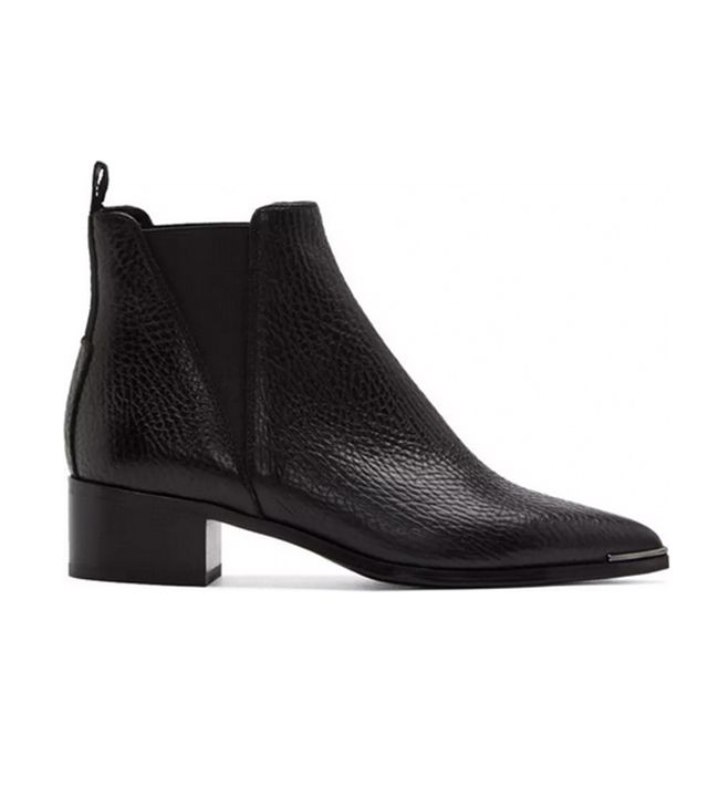 Acne Studios Grained Leather Jensen Chelsea Boots