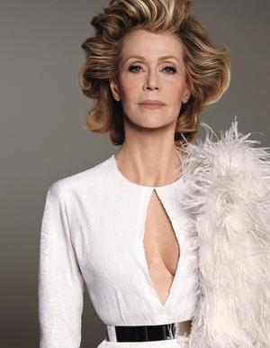 First Look: Jane Fonda's Drop Dead Gorgeous W Magazine Cover