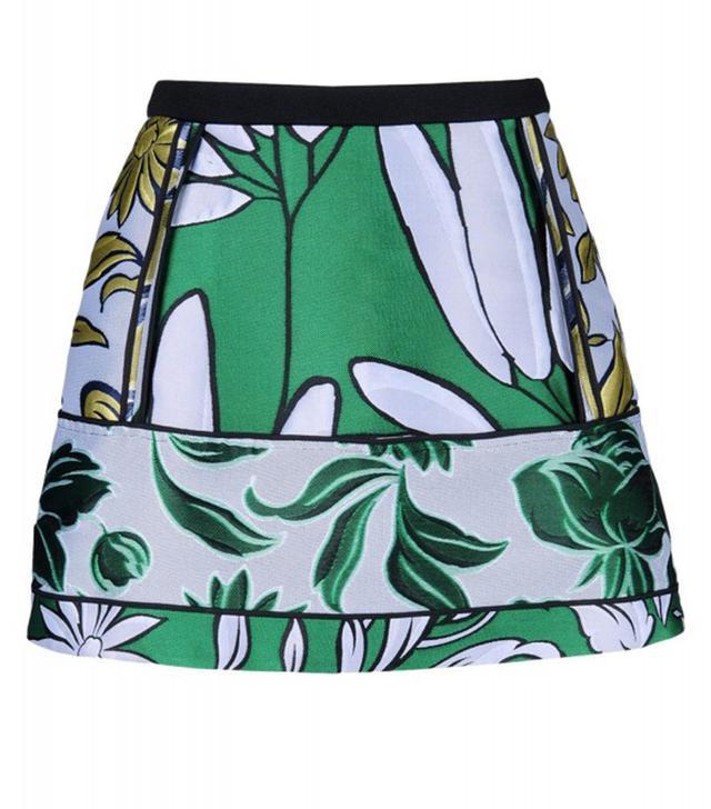 Marni Floral Jacquard Mini Skirt