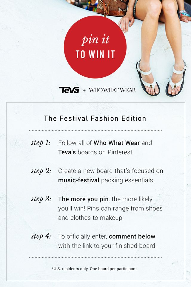 Pin It to Win It: The Festival Fashion Edition