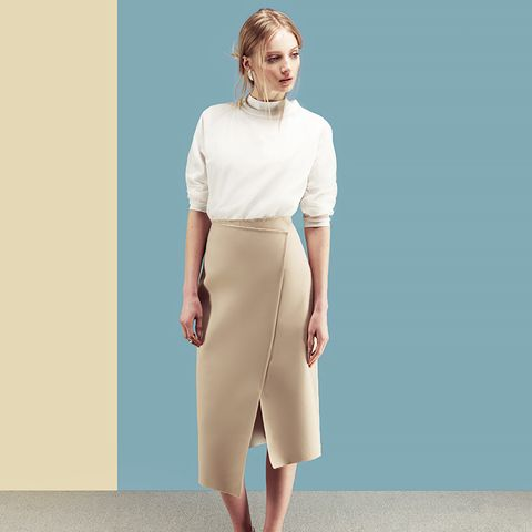 Adderley Wrap Midi Skirt