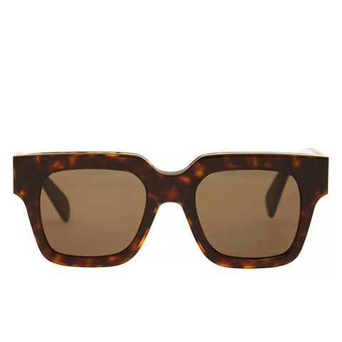 Brown Strat Screen Sunglasses