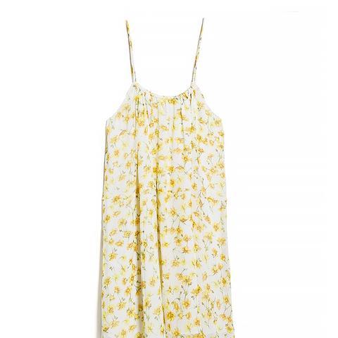 Women's Printed Chiffon Dress