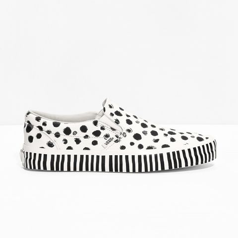 Dalmatian Leather Slip-On Shoes