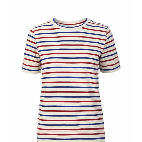 Soft Striped Picasso Blouse
