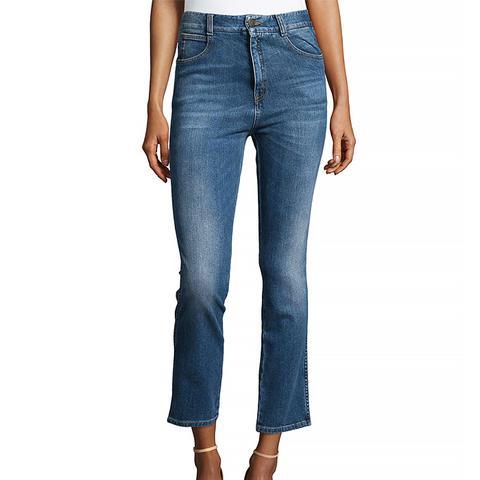 Denim Boyfriend Jeans in Blue