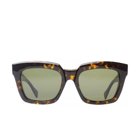 Dark Havana Fashion Sunglasses With Grey Lens