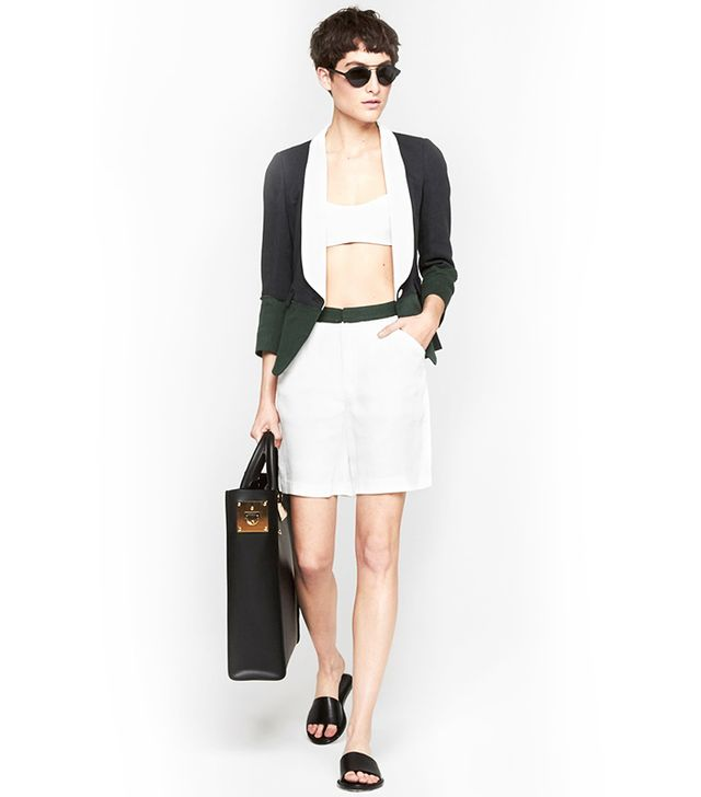 Band of Outsiders Double Gauze Suiting Short