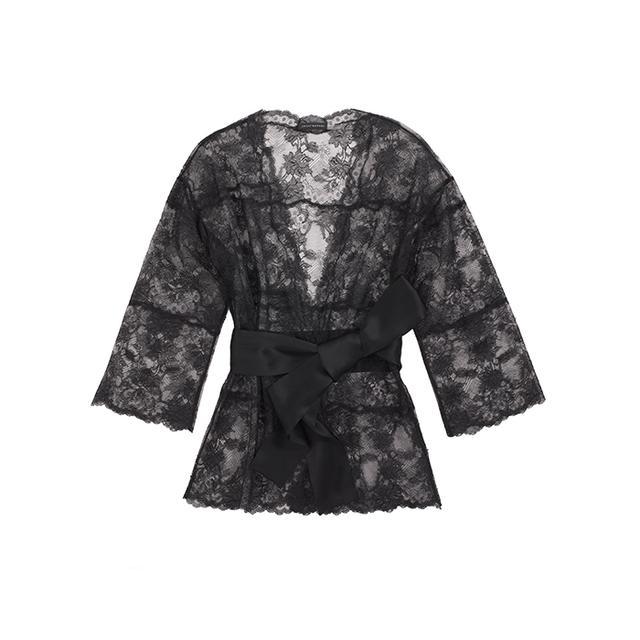 Josie Natori Chantilly Lace Robe