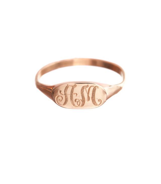 Ariel Gordon Petite Signet Ring
