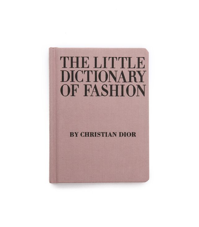 Books with Style The Little Dictionary of Style by Christian Dior