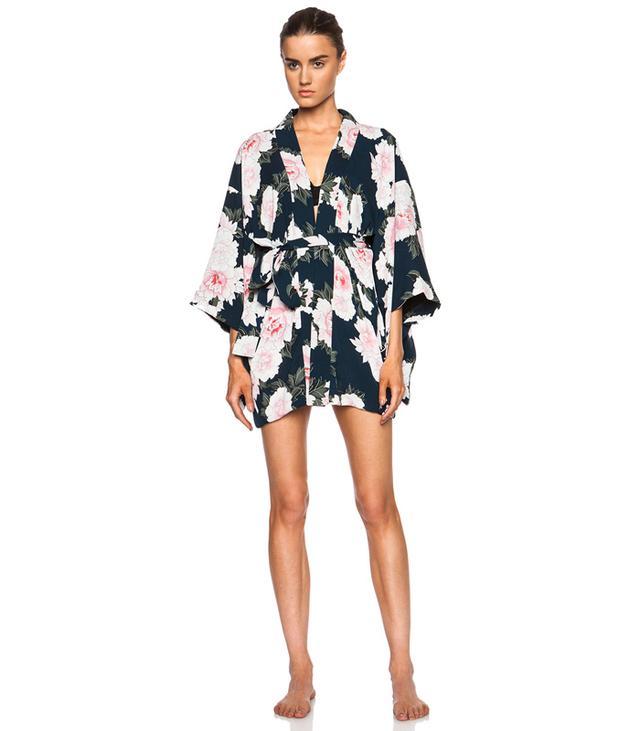 Fleur Du Mal Silk Haori Kimono