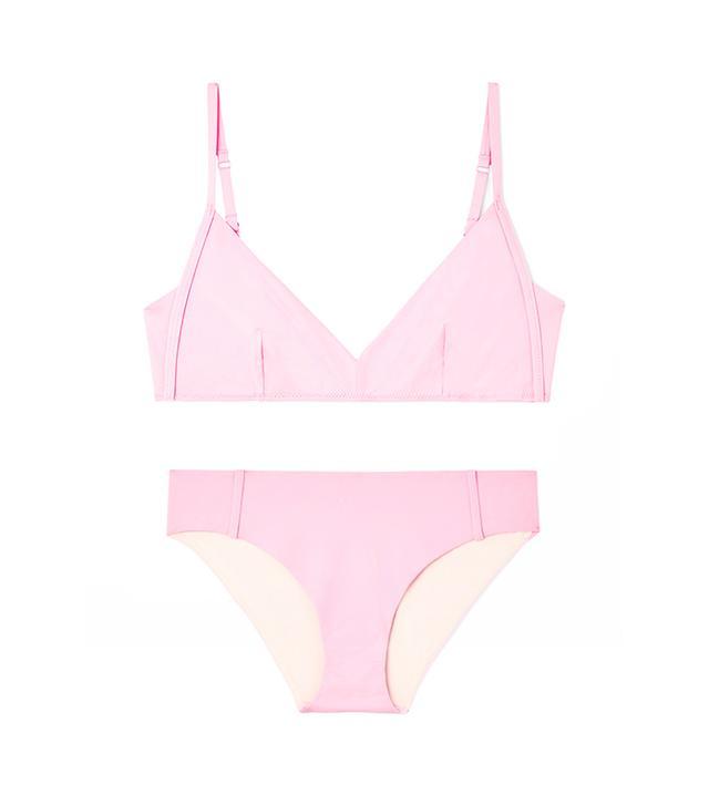COS COS Topstitch Bikini Top ($35) and Bottoms ($25)
