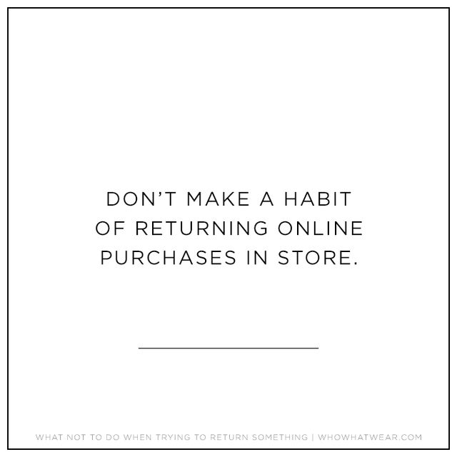 One store employee revealed that associates hate when people make in-store returns for items they bought online, because it ends up making the brick-and-mortar location suffer.She explained,...