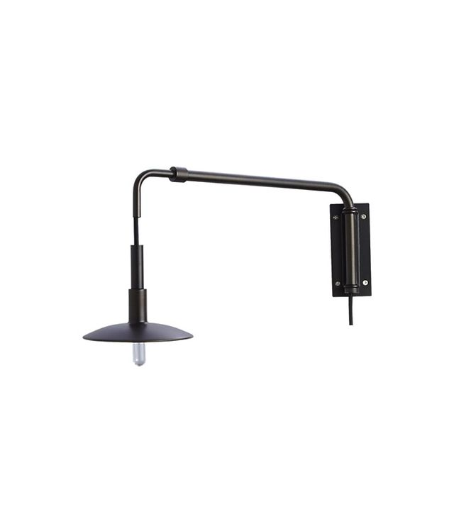 Crate & Barrel Swing Arm Bronze Sconce