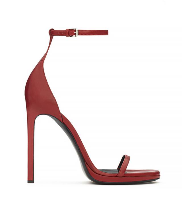 Saint Laurent Classic Jane Ankle Strap Sandals