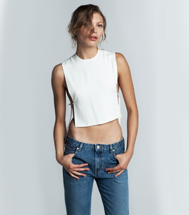Trois Esther Cropped Tank
