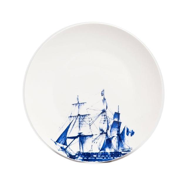 Zara Home Sailboat Dinner Plate