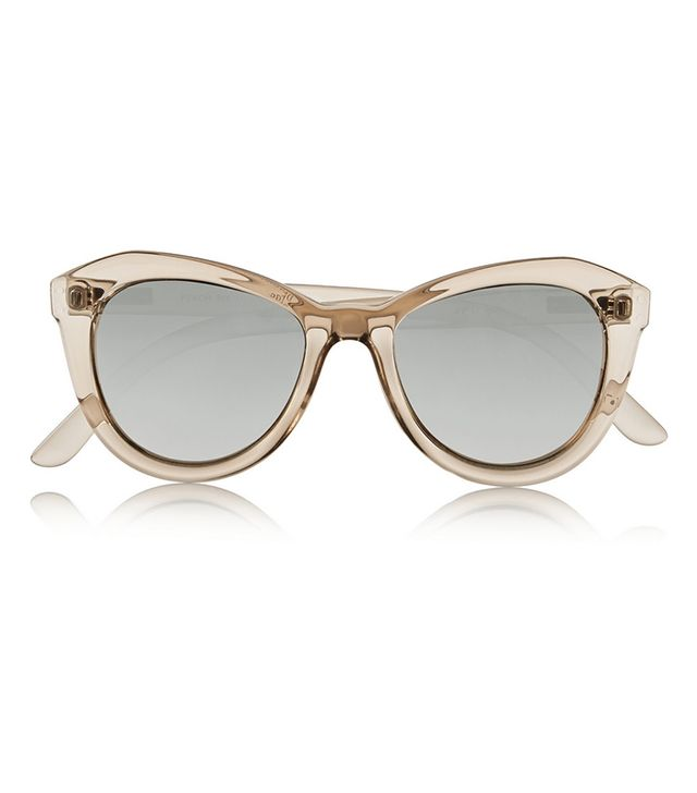 Le Specs Peach Pit Cat-Eye Acetate Sunglasses