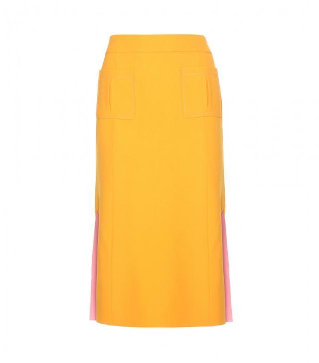 Nina Ricci Crepe Skirt