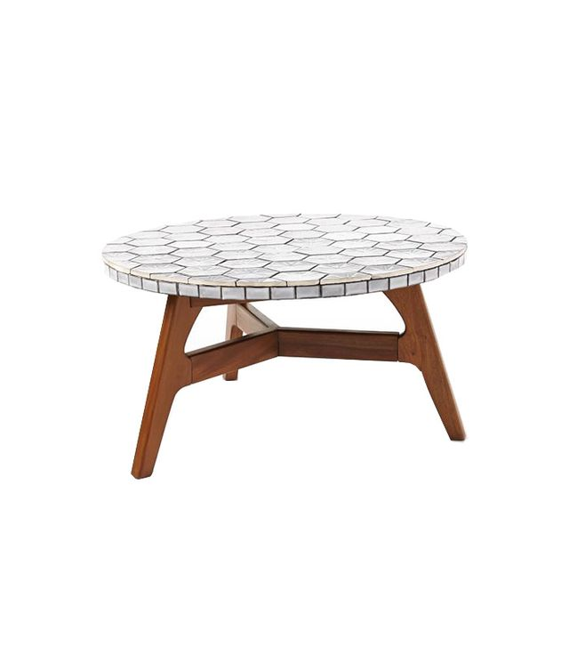 West Elm Mosaic Tiled Coffee Table