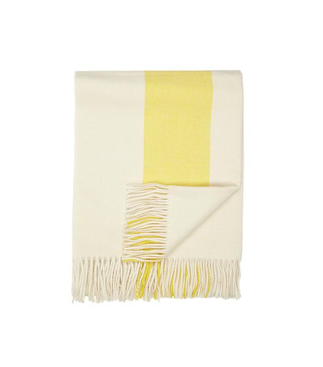 Simple Things Stripe Alpaca Throw