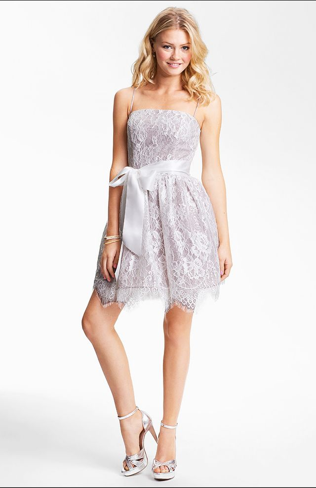 Bar or bat mitzvah to attend? Sweet sixteen? Prom? Surely you considered aJessica McClintockfrock at one point in time. The super-feminine dresses, usually embellished with lace or...