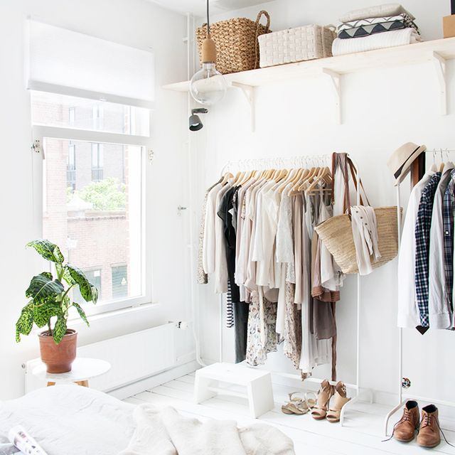 12 Absolutely Beautiful Makeshift Closets