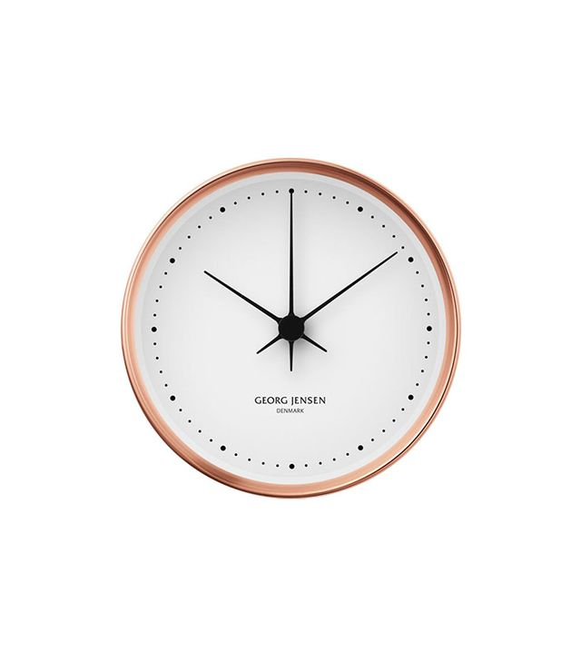 Georg Jensen Henning Koppel Copper Clock