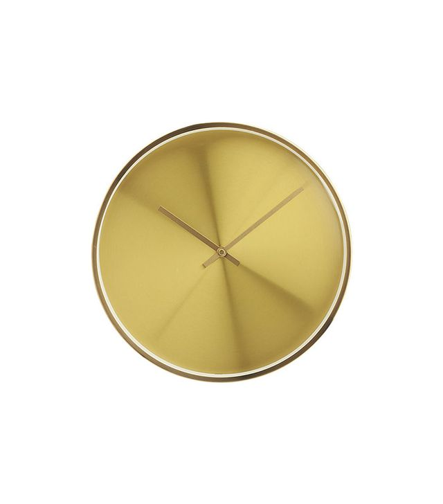 CB2 Karat Wall Clock
