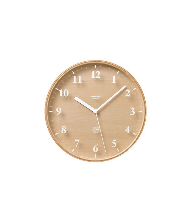 Moritoyoshi for Lemnos Snow S Wall Clock