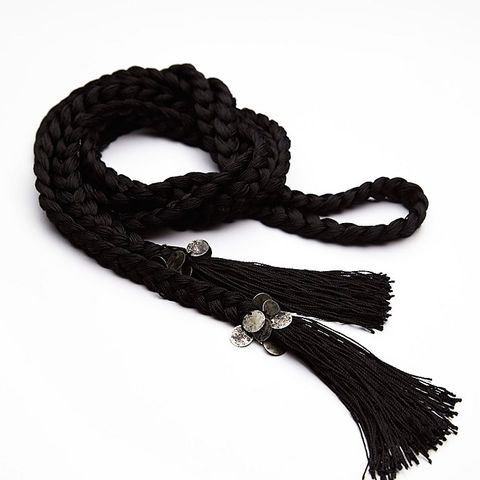Weave Me Be Tassel Belt