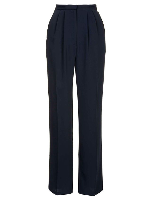 Topshop Slouchy Straight Leg Trousers