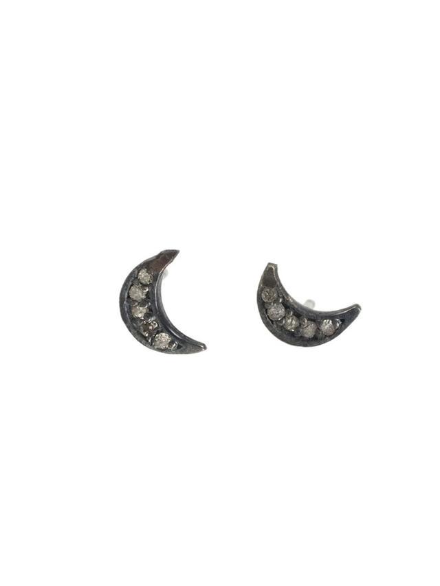 Catbird Jewellery Dark Side Of The Moon Earrings