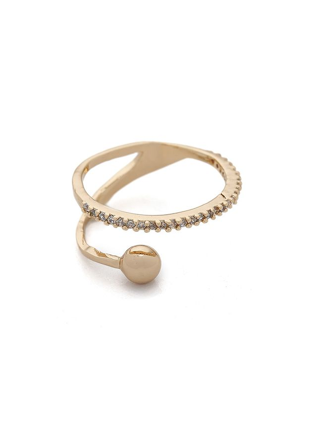 Jules Smith Pave Coil Ring