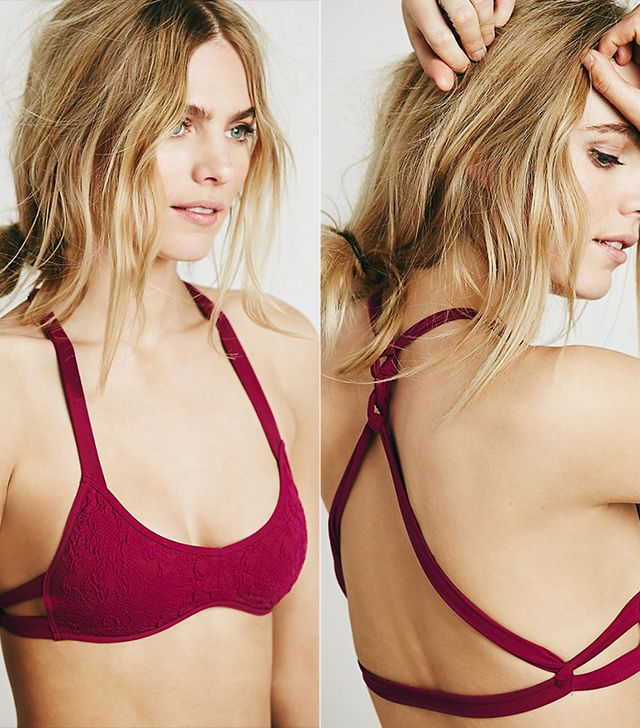 Free People Deepest Sea Bra