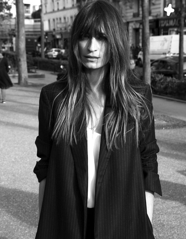 caroline de maigret is the star of equipment 39 s fall lookbook whowhatwear. Black Bedroom Furniture Sets. Home Design Ideas