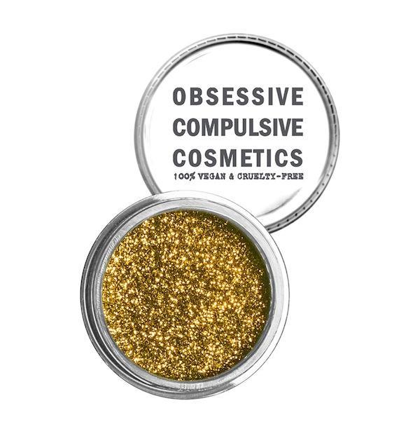 Obsessive Compulsive Cosmetics Cosmetic Glitter in Gold
