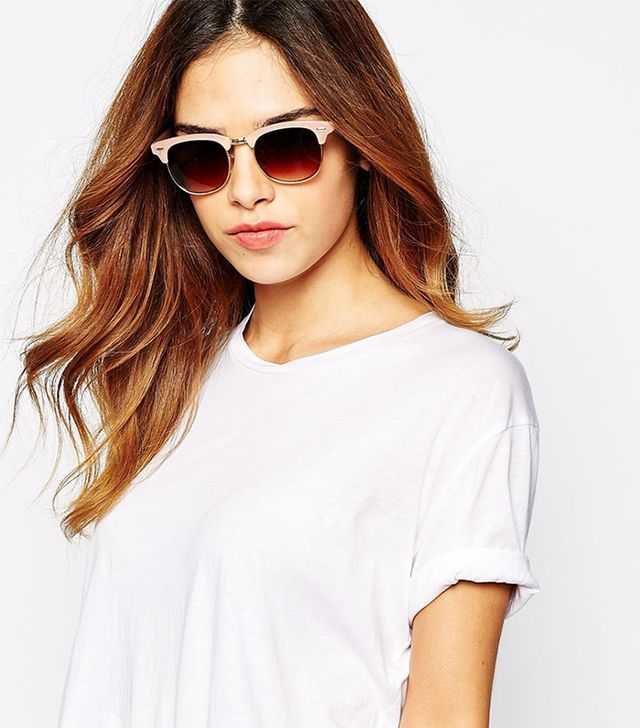 Warehouse Half Metal Sunglasses