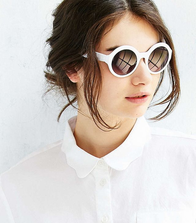 Urban Outfitters Phoebe Simple Round Sunglasses