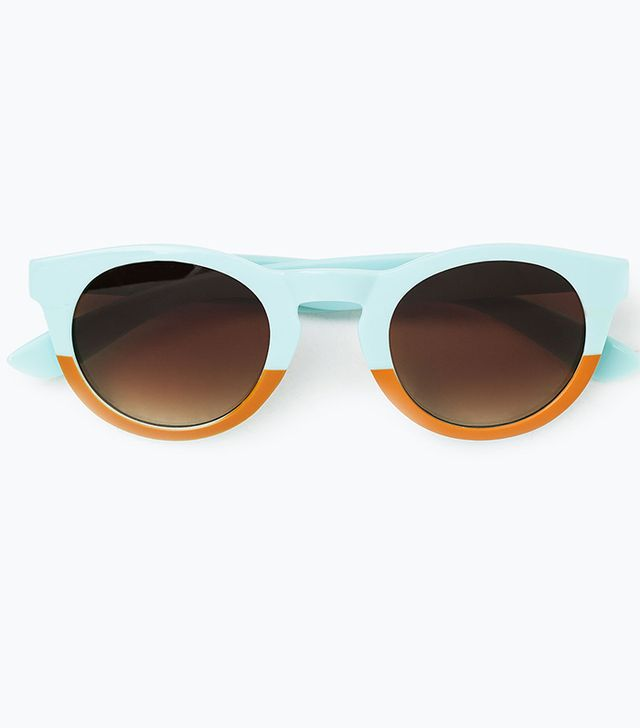 Zara Two-Tone Sunglasses