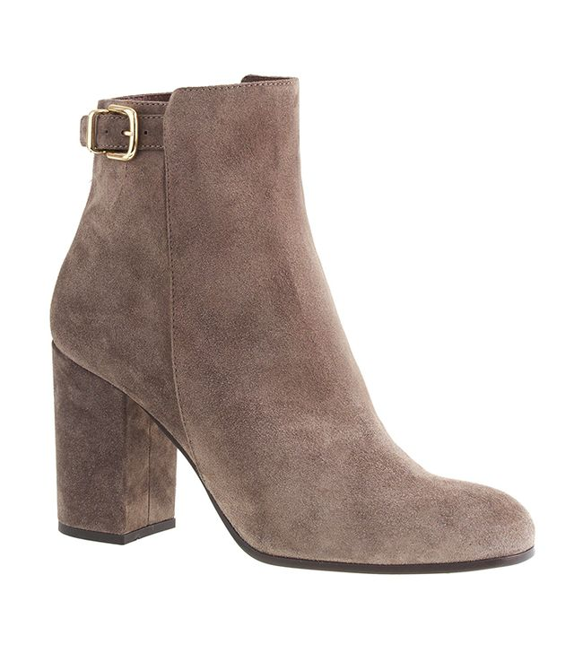 J.Crew Barret Suede Ankle Boots